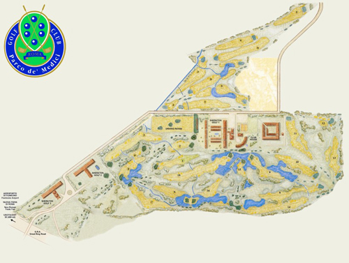 Maps Sheraton Golf Club Parco de Medici